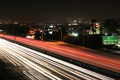405 Freeway At Night